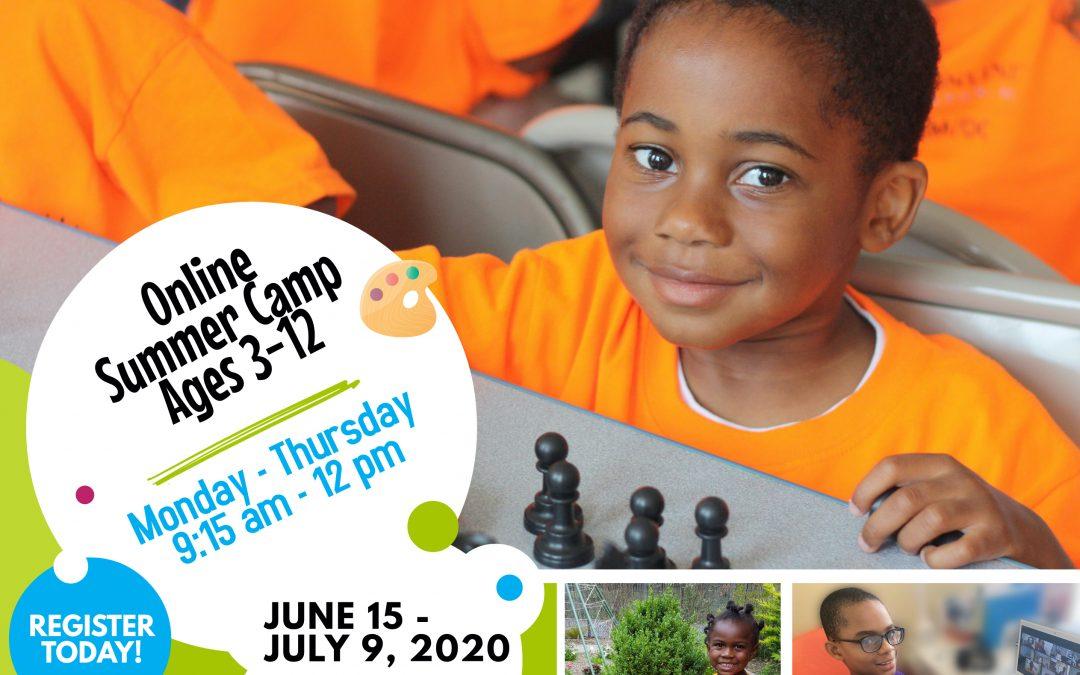 Live Online Summer Camp