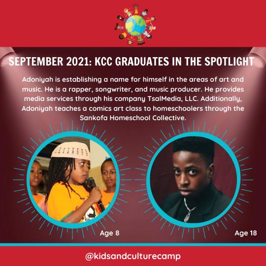 September 2021 Graduate in the Spotlight